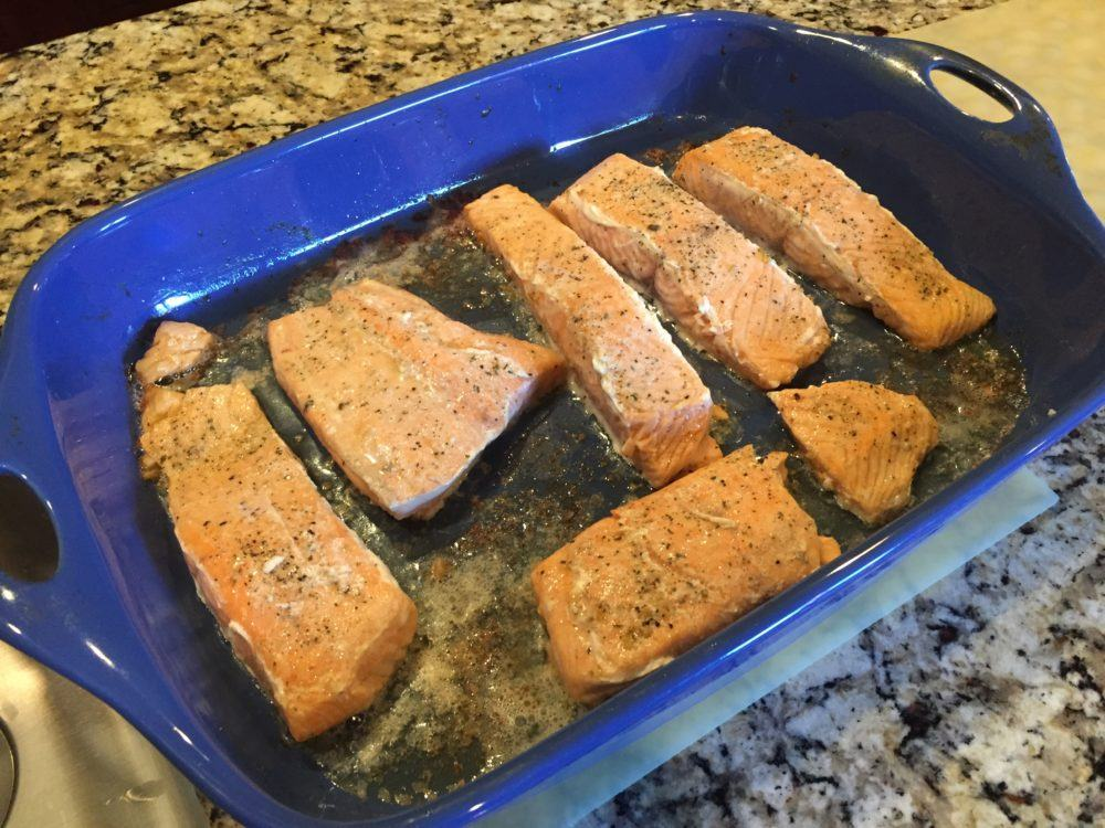 Delicious Cooked Salmon Filets