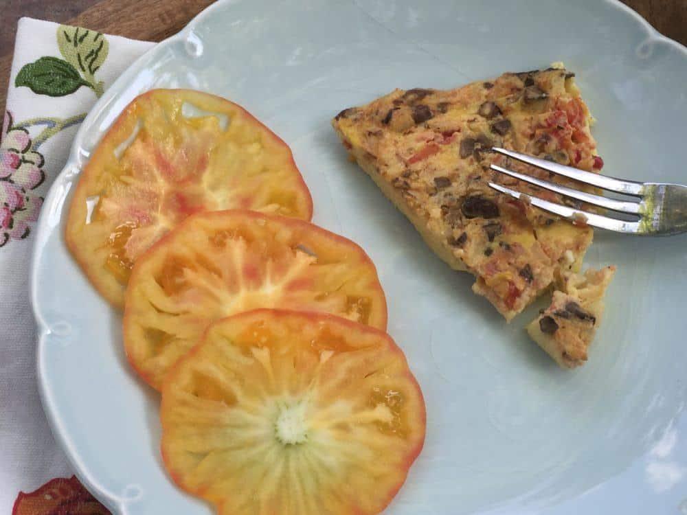Tomato Veggie Frittata