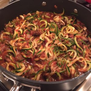 Zoodles for Dinner